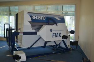 Redbird FMX Full Motion Flight Simulator