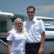 Congratulations Iris!  Private Pilot in Less than 4 Weeks