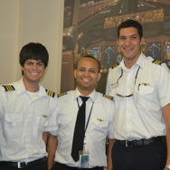 Commercial Pilot Certification!  Congratulations Jorge & Michael