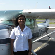 Shama Earns Private Pilot License in 4 Weeks!
